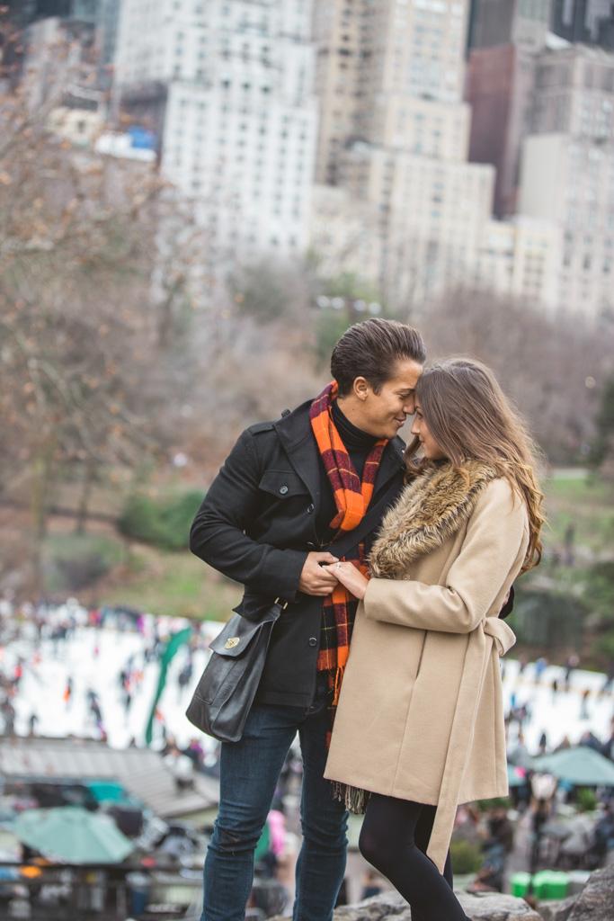 Photo 15 Central Park Marriage proposal under Gapstow bridge | VladLeto