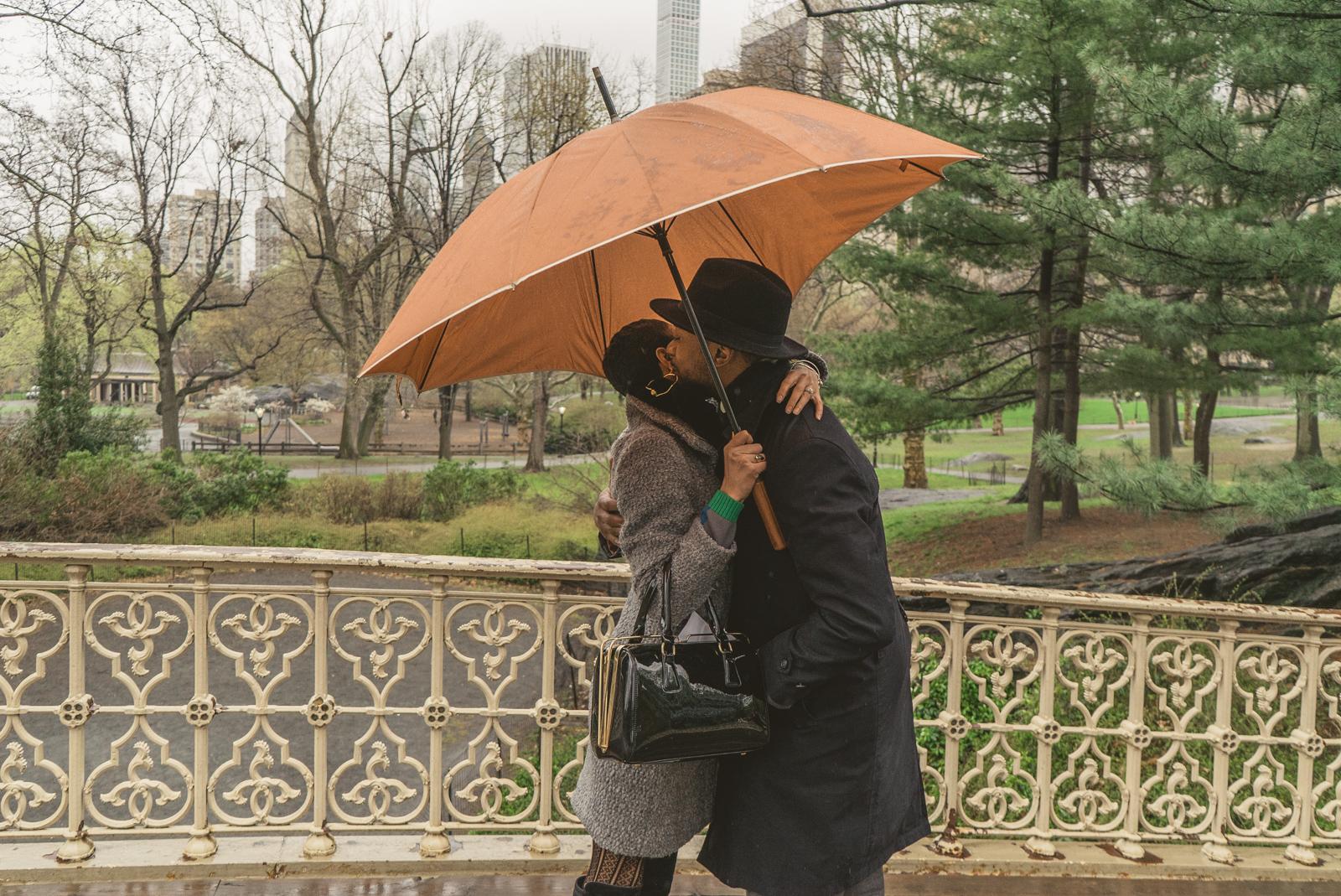 Photo 6 Pine Bank bridge Central Park Marriage Proposal   VladLeto