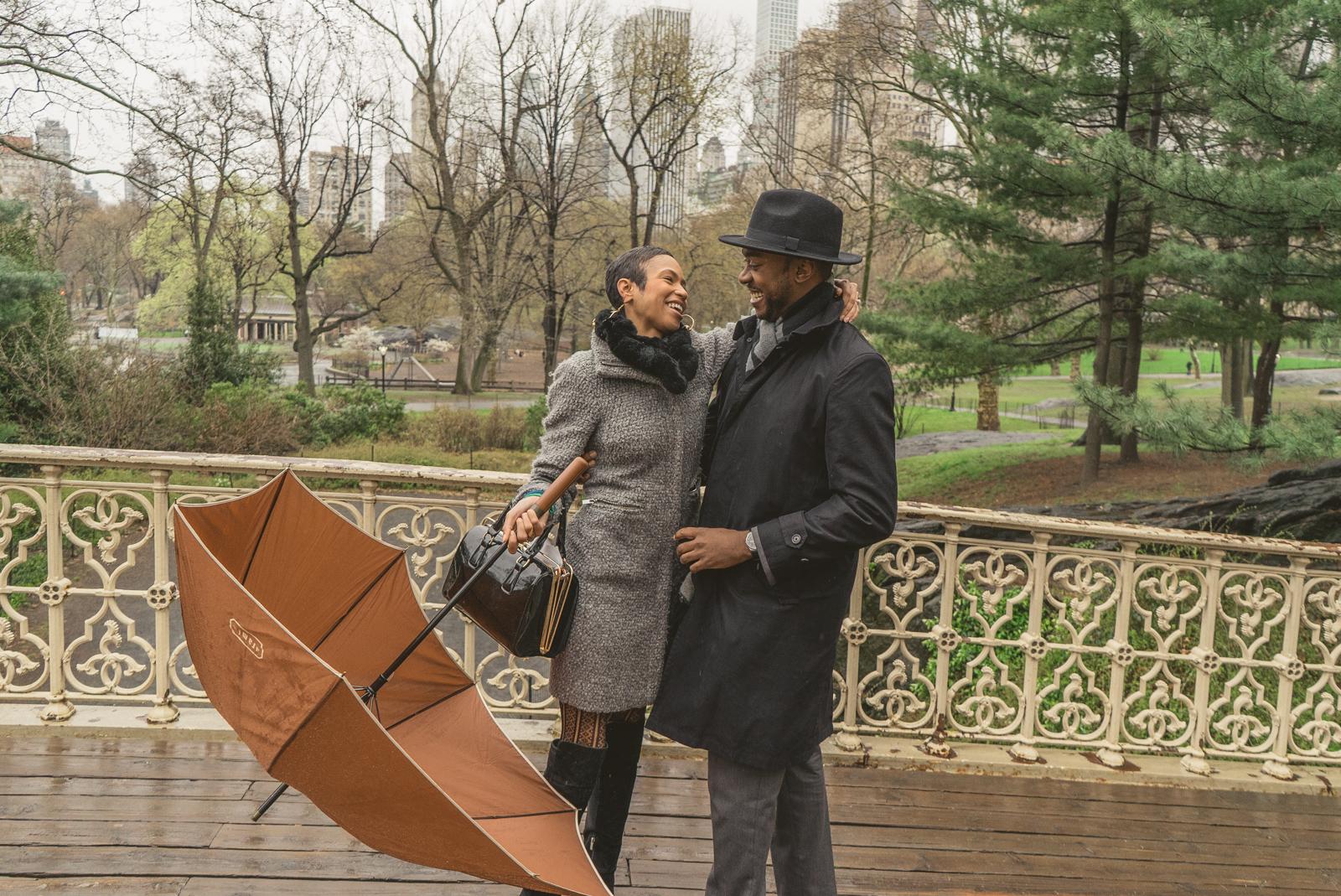 Photo 7 Pine Bank bridge Central Park Marriage Proposal   VladLeto