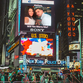 Photo Times Square Billboard Proposal | VladLeto