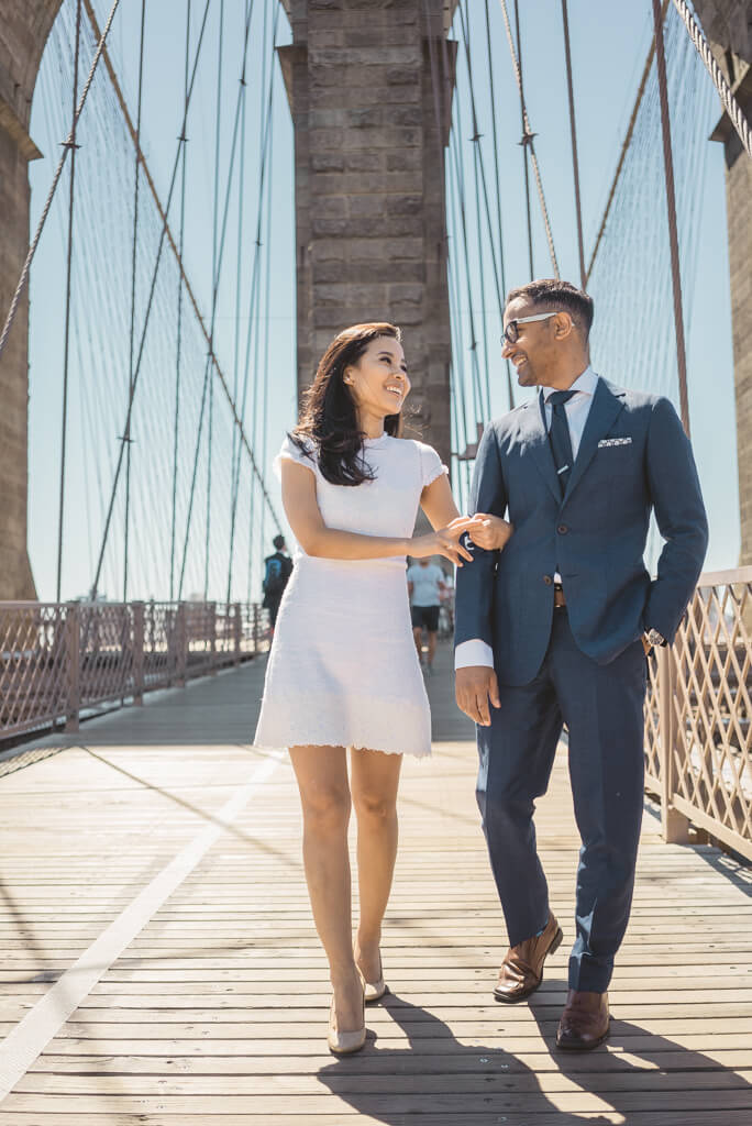 Photo 3 Brooklyn Bridge + City Hall wedding | VladLeto