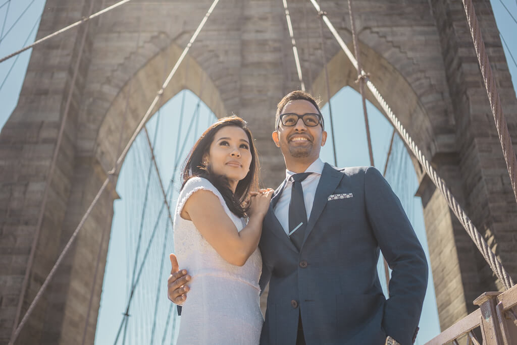 Photo Brooklyn Bridge + City Hall wedding | VladLeto