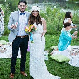 Belvedere Castle Wedding in Central Park