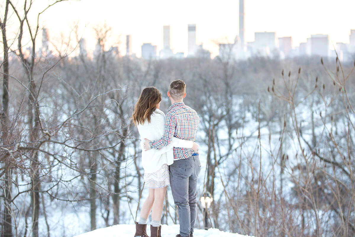 Photo 6 Central Park Winter Proposal. February 2015 | VladLeto