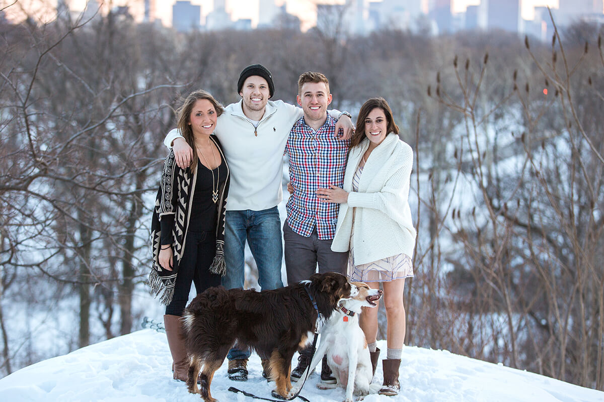 Photo 8 Central Park Winter Proposal. February 2015 | VladLeto