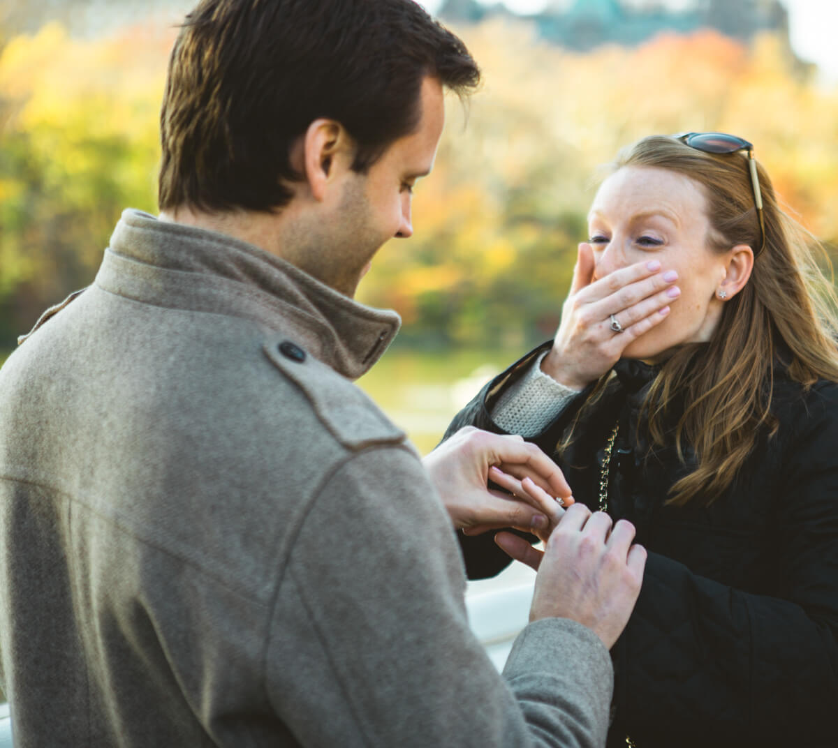 Photo 4 Bow bridge Marriage Proposal in Central Park