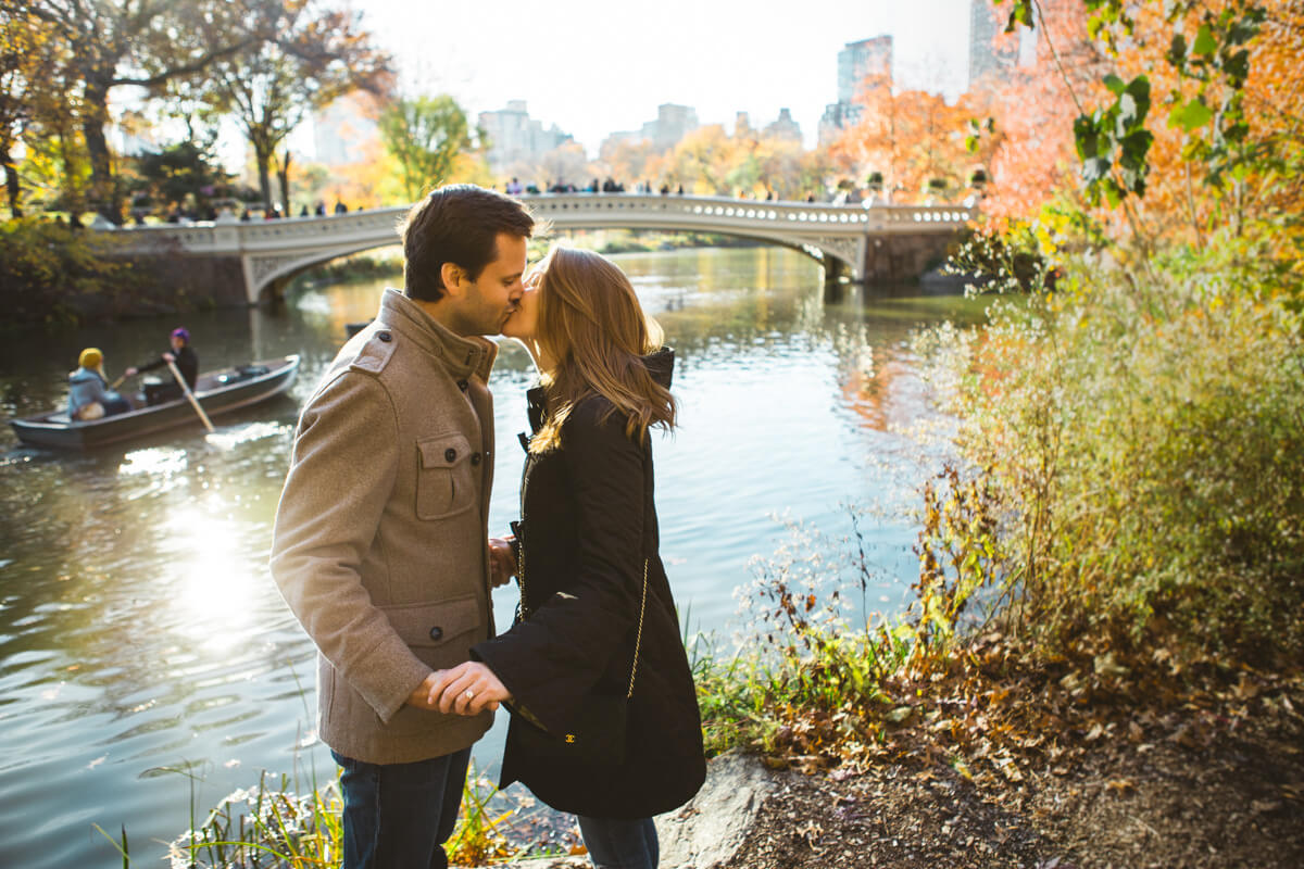 Photo 7 Bow bridge Marriage Proposal in Central Park