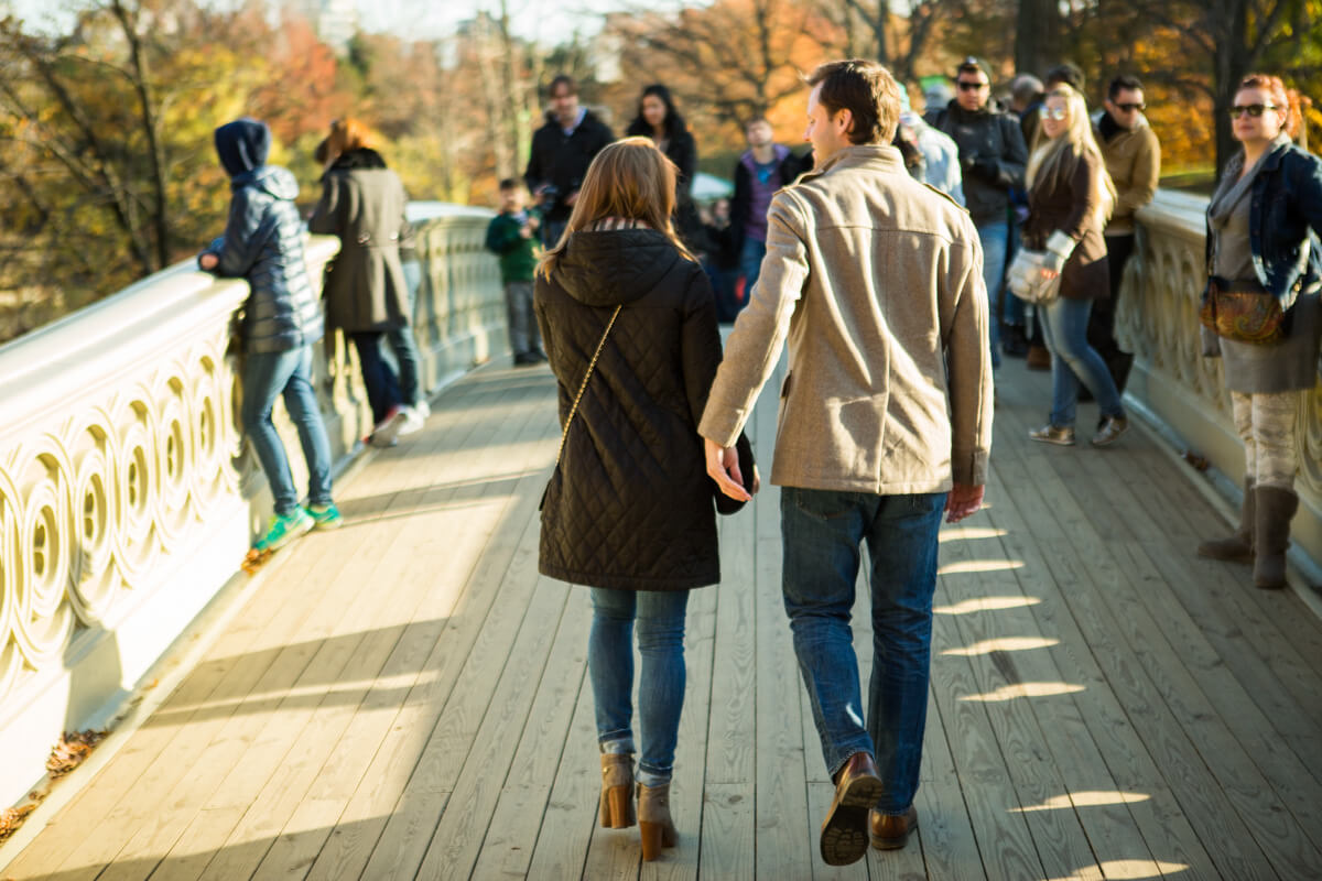 Photo 8 Bow bridge Marriage Proposal in Central Park