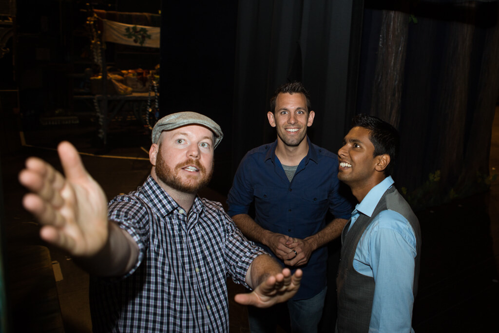 Photo 5 Kunal and Jason Cinderella Broadway show Marriage Proposal. September 2013 | VladLeto