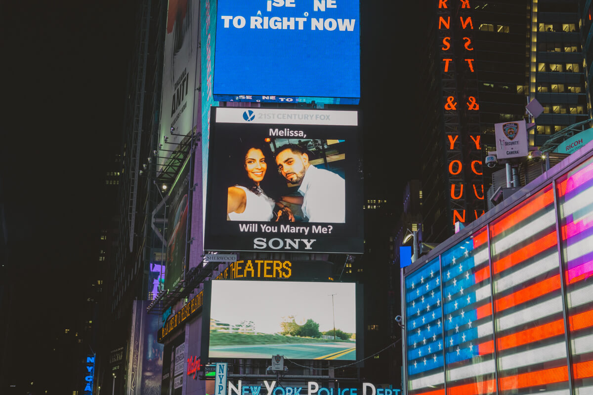 Photo 5 Times Square Billboard Proposal | VladLeto