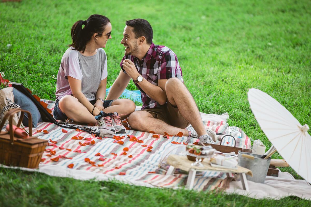 Photo 8 Picnic Proposal in Central Park | VladLeto