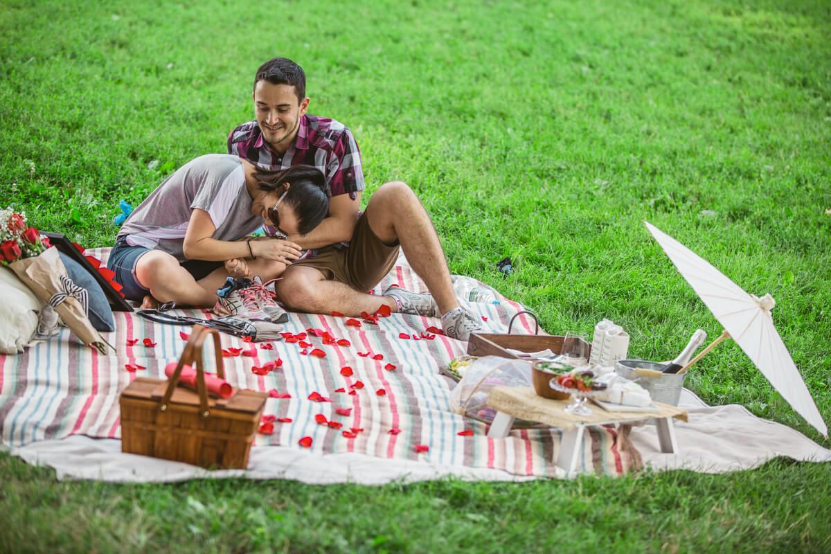 Photo 9 Picnic Proposal in Central Park | VladLeto