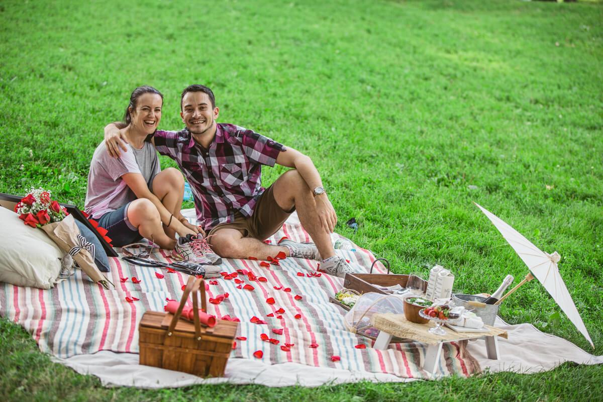 Photo 10 Picnic Proposal in Central Park | VladLeto