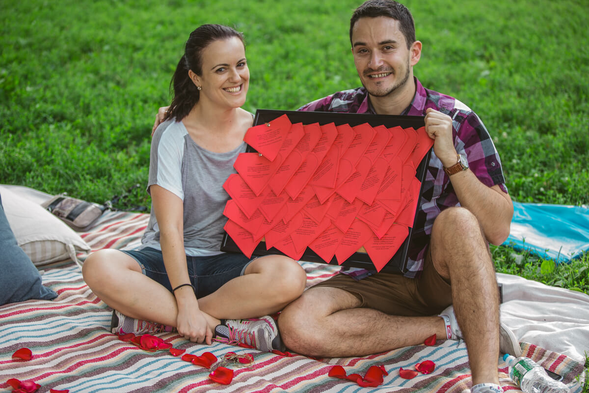 Photo 12 Picnic Proposal in Central Park | VladLeto