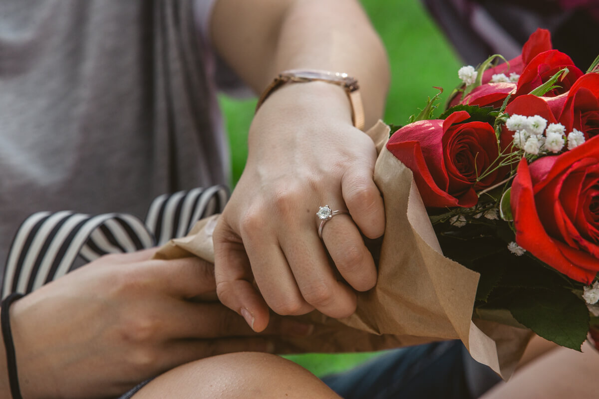 Photo 14 Picnic Proposal in Central Park | VladLeto