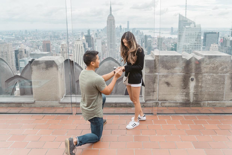 Photo 4 Top of The Rock Surprise Proposal   VladLeto
