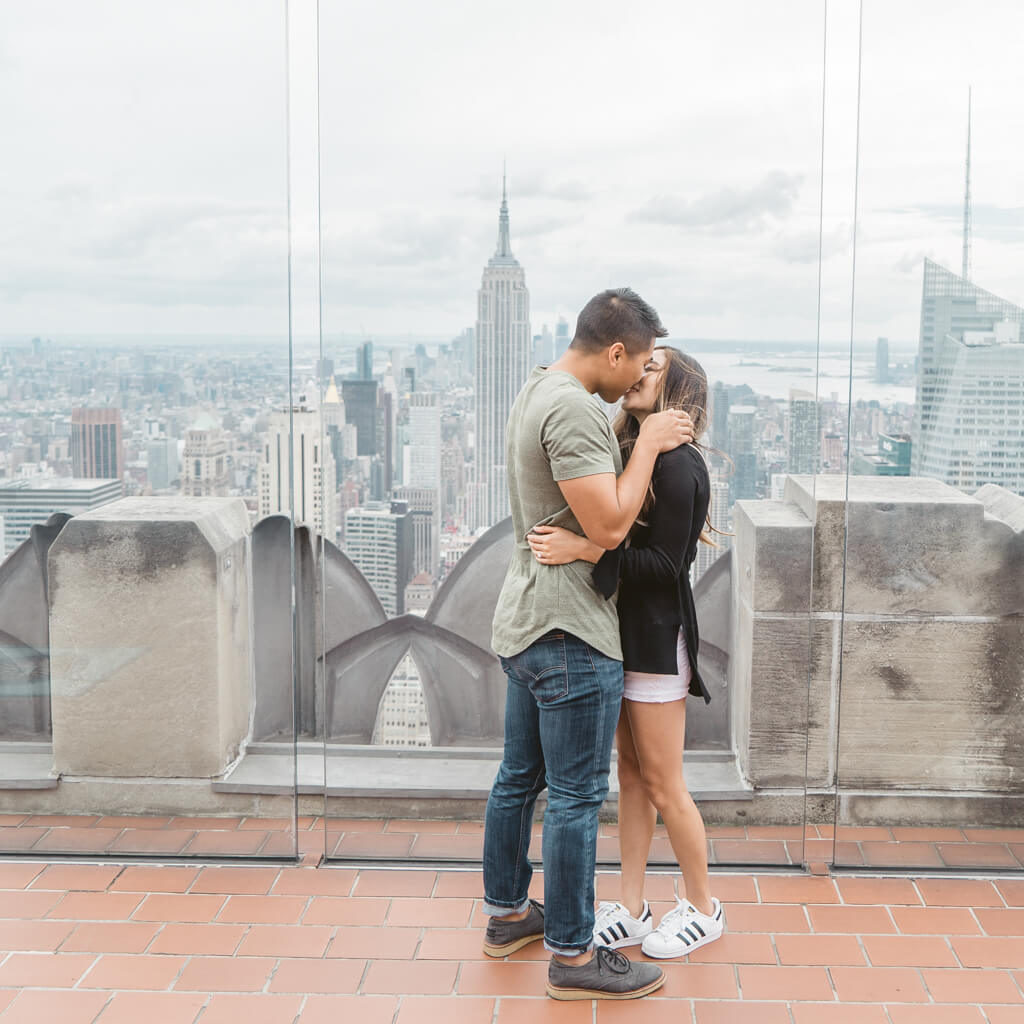 Photo 13 Top of The Rock Surprise Proposal | VladLeto