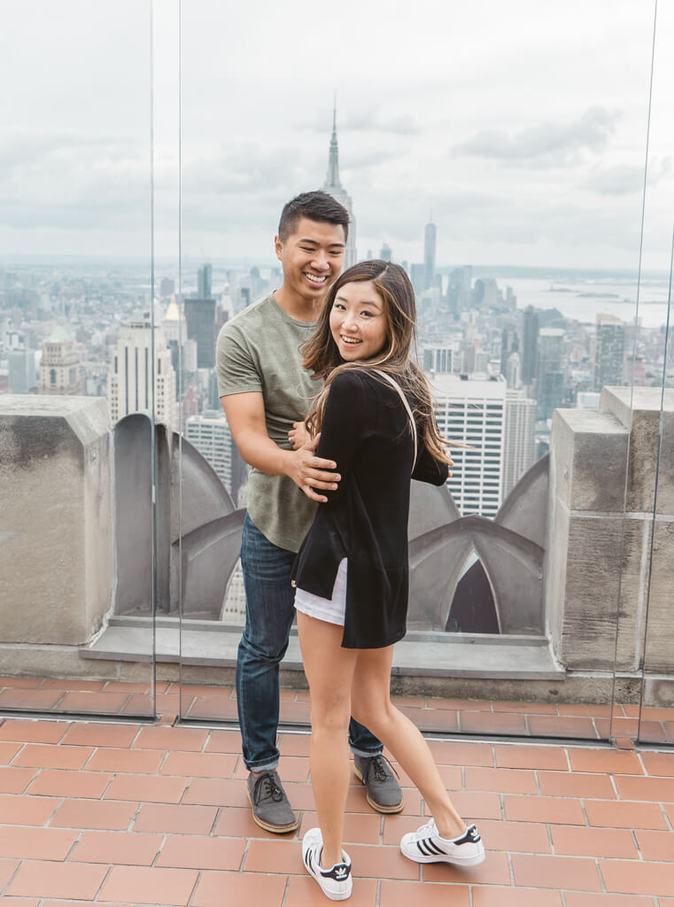 Photo 7 Top of The Rock Surprise Proposal | VladLeto