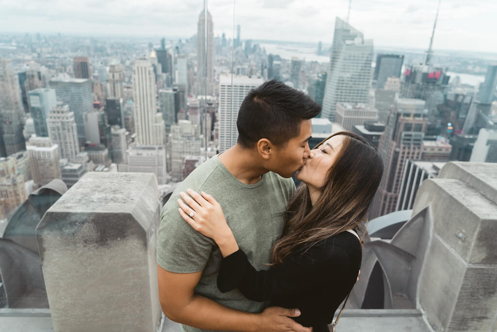Photo 19 Top of The Rock Surprise Proposal | VladLeto