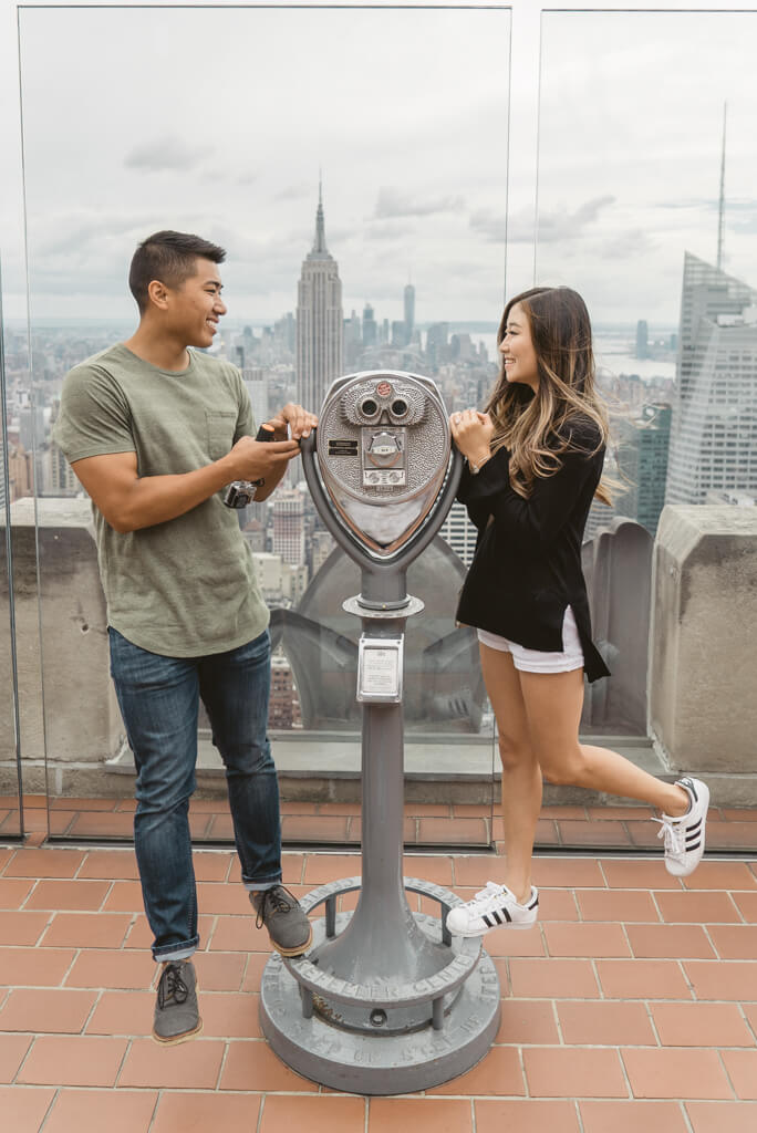 Photo 22 Top of The Rock Surprise Proposal | VladLeto