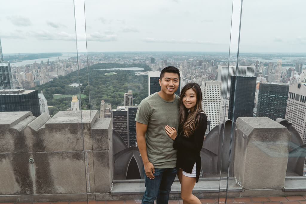 Photo 31 Top of The Rock Surprise Proposal | VladLeto