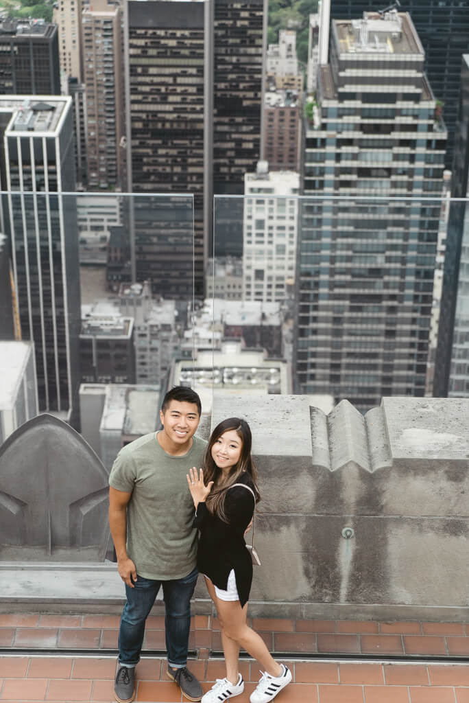 Photo 29 Top of The Rock Surprise Proposal | VladLeto