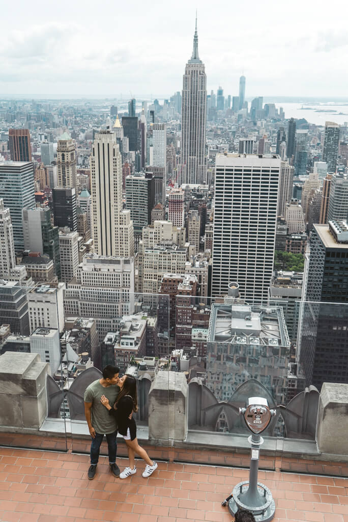 Photo 34 Top of The Rock Surprise Proposal | VladLeto