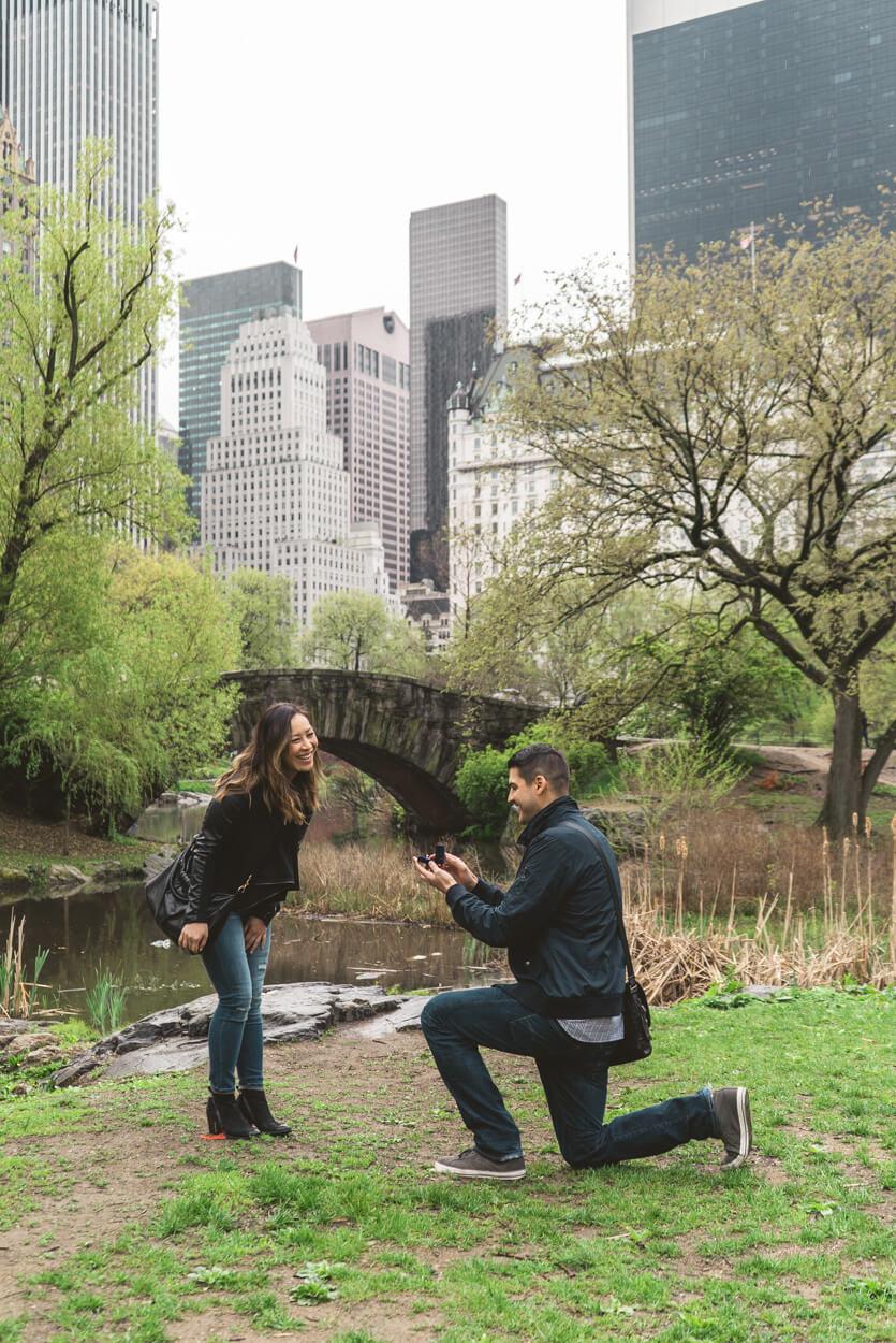 Photo Gapstow Bridge Marriage Proposal 2 | VladLeto