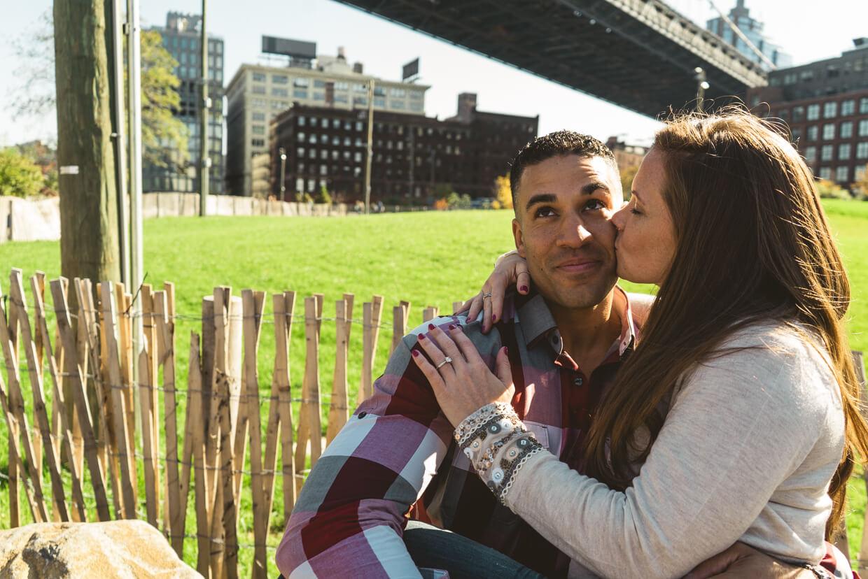 Photo 7 Brooklyn Bridge park proposal. Trevor + Amanda. | VladLeto