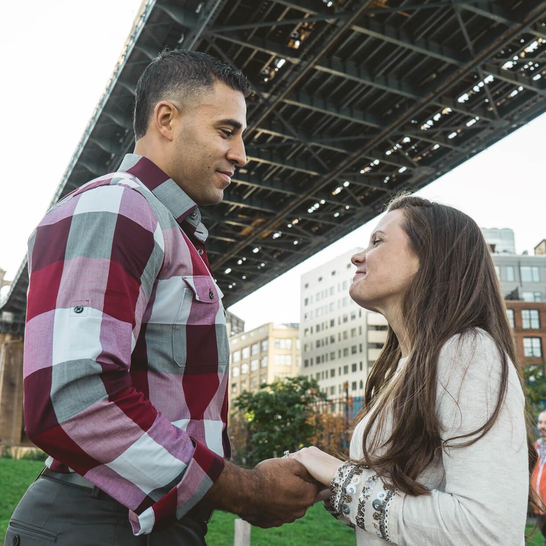 Photo 12 Brooklyn Bridge park proposal. Trevor + Amanda. | VladLeto