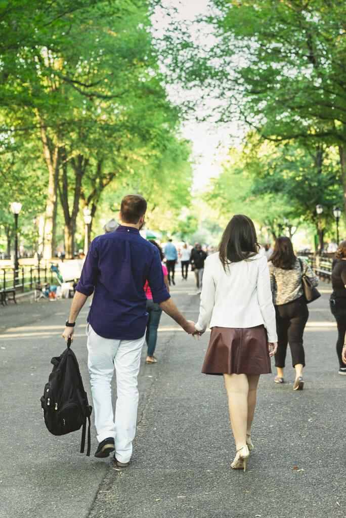 Photo Central Park Marriage Proposal.   VladLeto