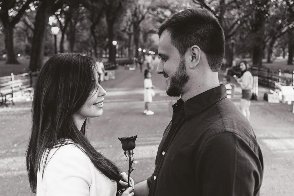 Photo 8 Central Park Marriage Proposal.   VladLeto