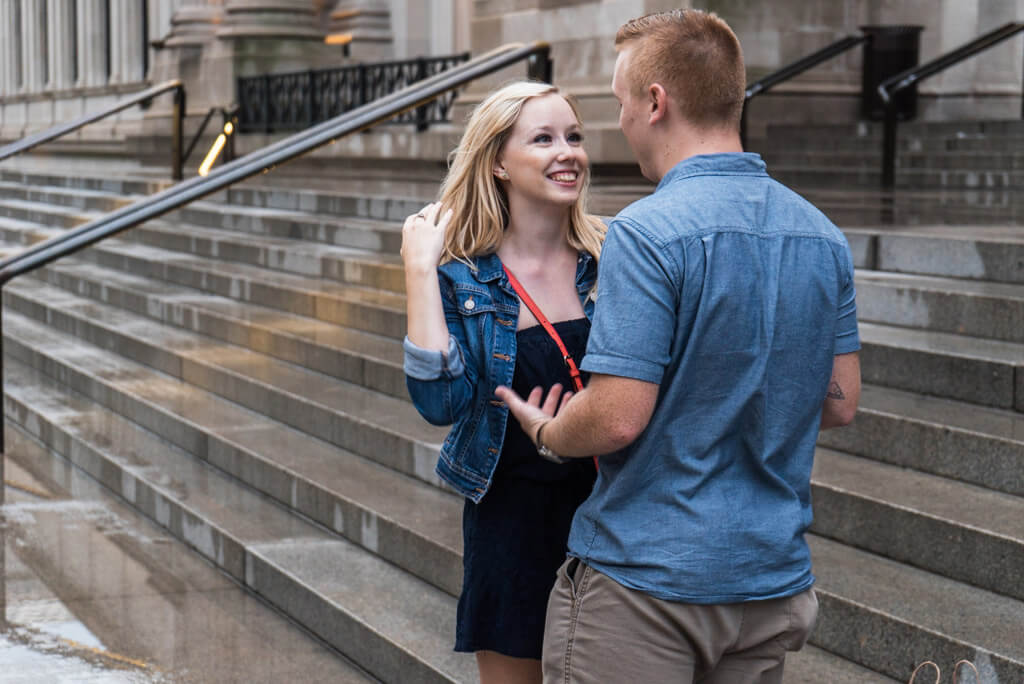 Photo 7 Marriage proposal in front Metropolitan museum. | VladLeto