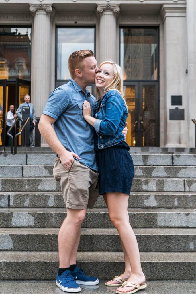 Photo 7 Marriage proposal in front Metropolitan museum. | VladLeto