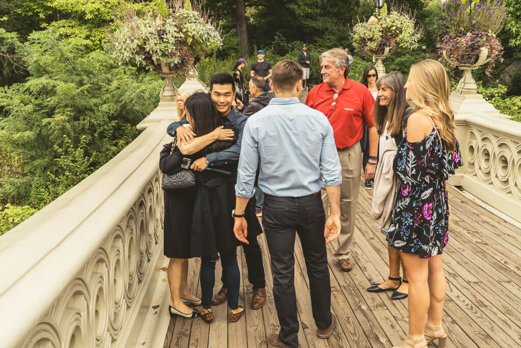 Photo 4 Marriage Proposal on Bow Bridge, Central Park. | VladLeto