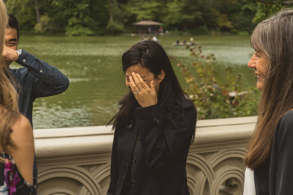 Photo 4 Marriage Proposal on Bow Bridge, Central Park. | VladLeto