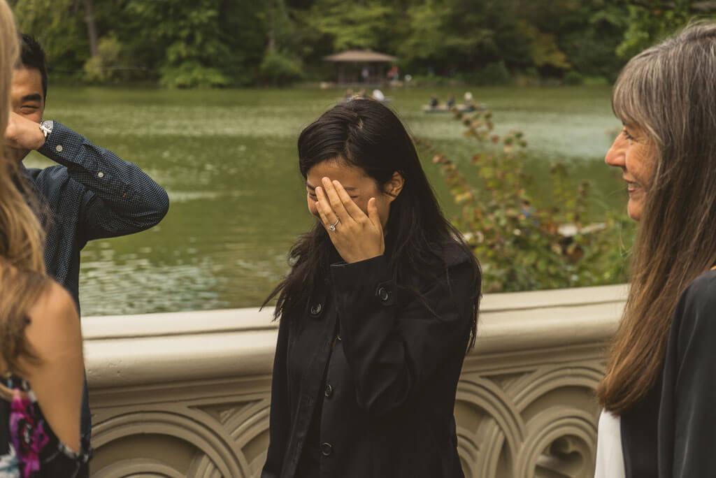 Photo 3 Marriage Proposal on Bow Bridge, Central Park. | VladLeto
