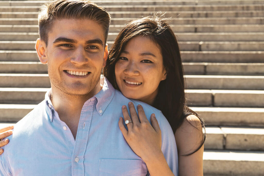 Photo 6 Marriage Proposal on Bow Bridge, Central Park. | VladLeto
