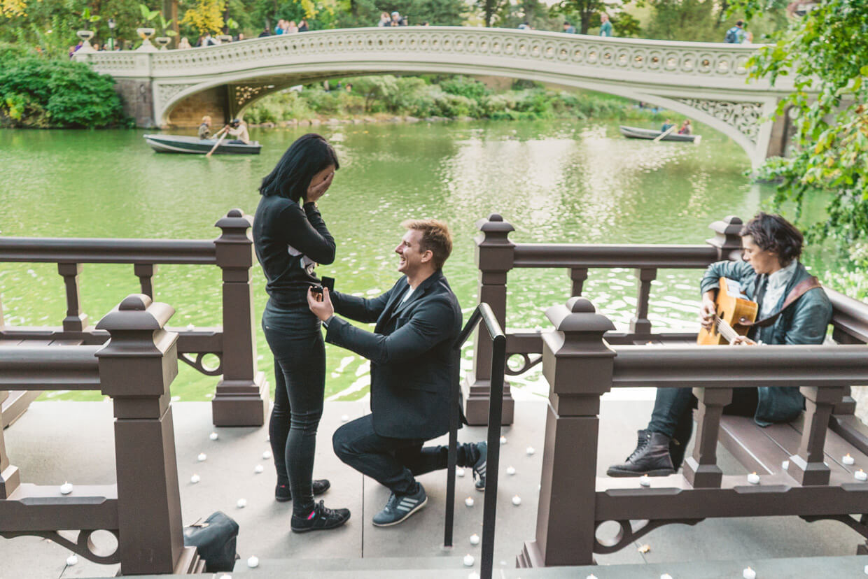 Photo 2 Bow Bridge Marriage Proposal 3 | VladLeto