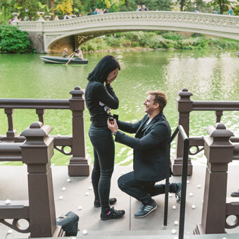 Photo Bow Bridge Marriage Proposal 3 | VladLeto