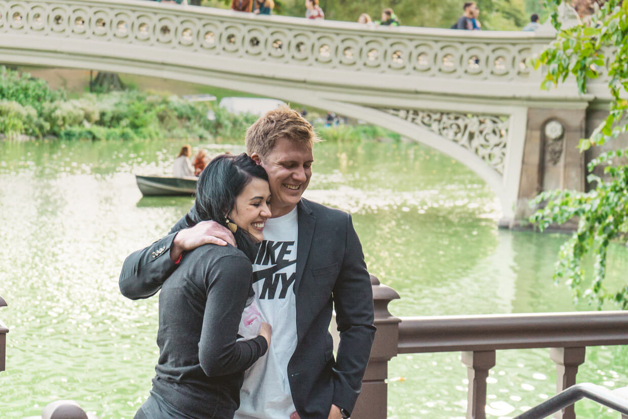 Photo 4 Bow Bridge Marriage Proposal 3 | VladLeto
