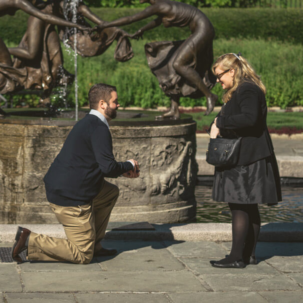 Photo 2 Conservatory Garden Marriage proposal.   VladLeto