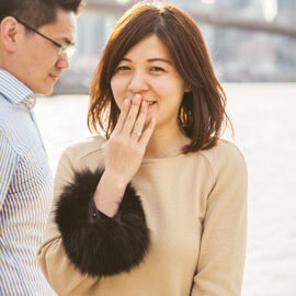 Photo Main street park - Dumbo, Brooklyn Marriage proposal. (photo+video) | VladLeto