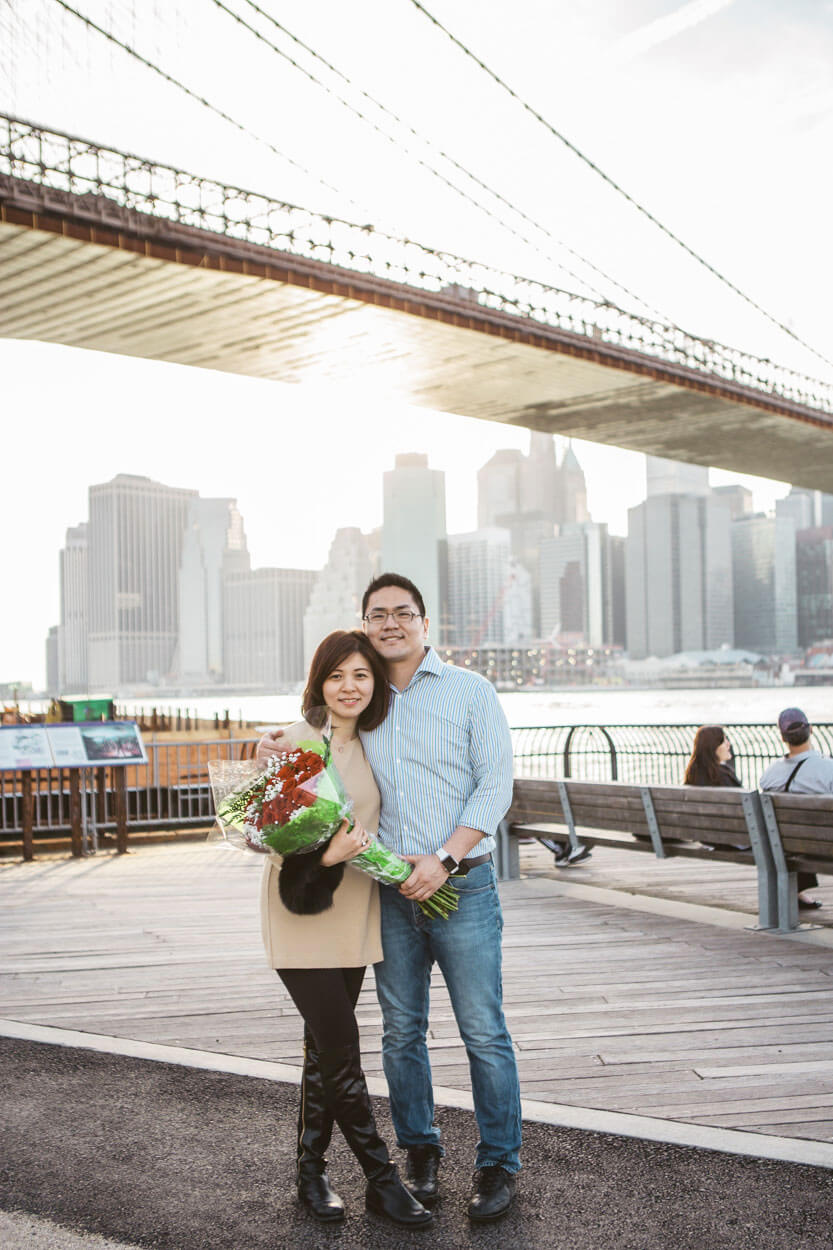 Photo 8 Main street park - Dumbo, Brooklyn Marriage proposal. (photo+video) | VladLeto
