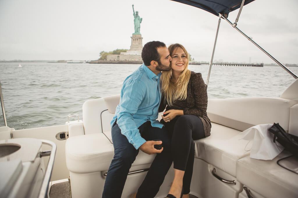 Photo 8 Statue of Liberty boat proposal. | VladLeto
