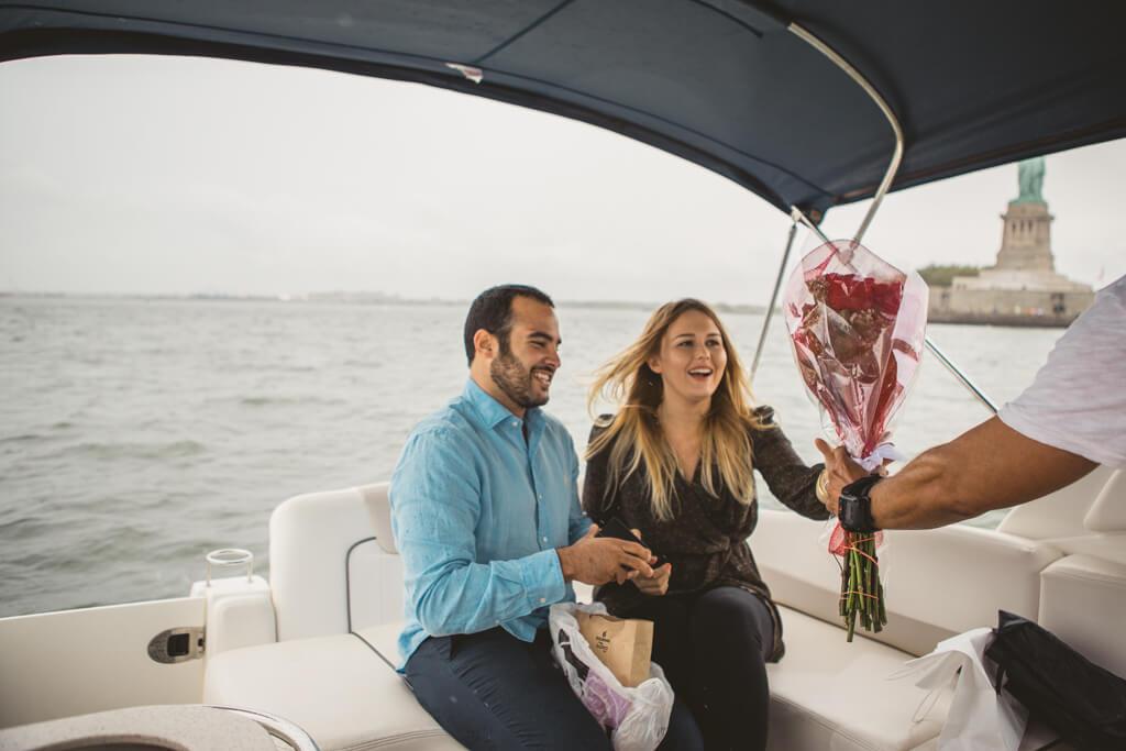 Photo 10 Statue of Liberty boat proposal. | VladLeto