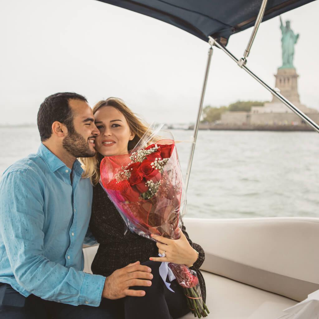 Photo 11 Statue of Liberty boat proposal. | VladLeto