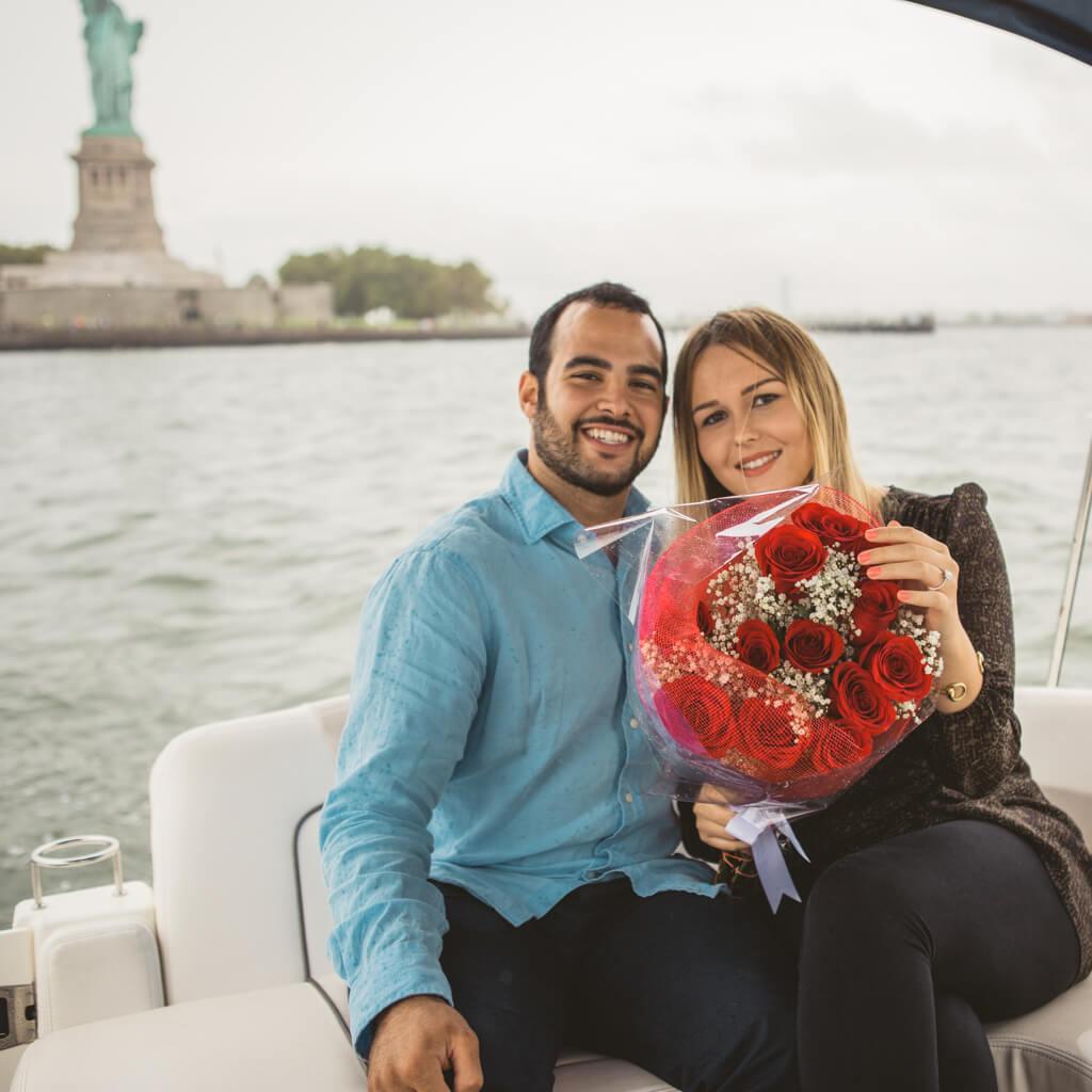 Photo 12 Statue of Liberty boat proposal. | VladLeto