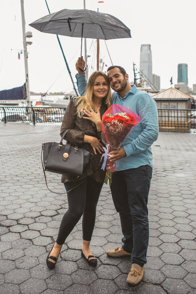 Photo 15 Statue of Liberty boat proposal. | VladLeto