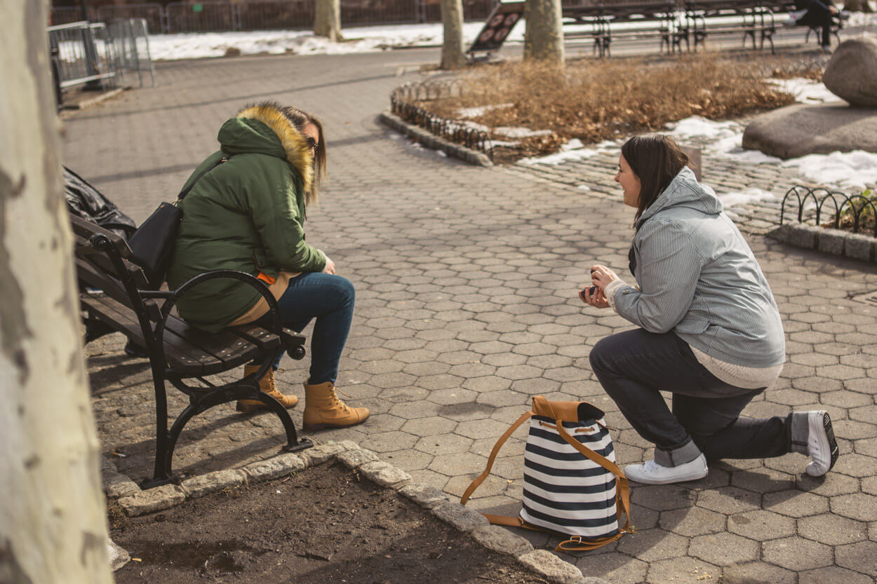 Photo 3 Battery Park Marriage Proposal 2 | VladLeto